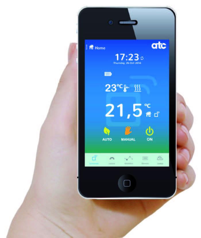 ATC Sun Ray Wi-Fi radiator app