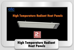 High Temp Radiant Heating Panels