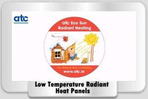 Low Temperature Radiant Heating Panels