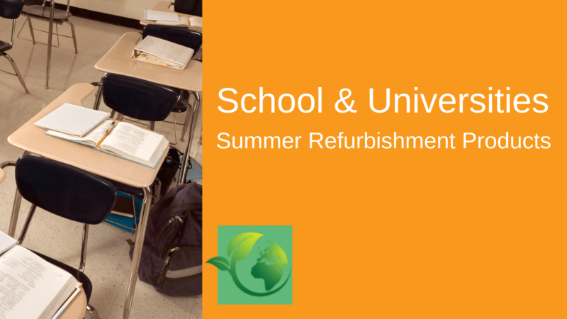 Summer Refurbishment Projects For Schools & Colleges