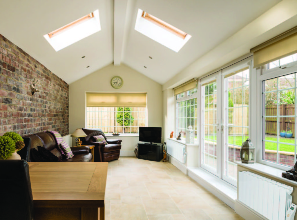 Sun Ray Neptune Low Level Radiators - Conservatory Image
