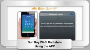 Sun Ray Wi-Fi Radiators - Using the App