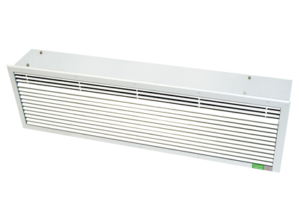 C2 Range Recessed Air Curtains